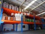 佛山活動貨架倉庫消防夾層鋼板隔層鐵架佛山活動貨架