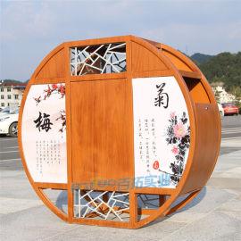 创意分类垃圾桶大号室外景区小区公园垃圾箱