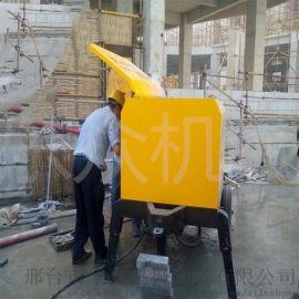新型斜式二次构造柱泵上料机二次结构上料机小型细石混