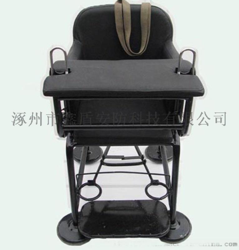 [鑫盾安防]钢管审讯椅带U型锁 国标不锈钢审讯桌椅XD