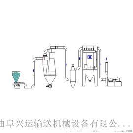 稀相气力输送系统南昌气力输送 操作简单设备简单
