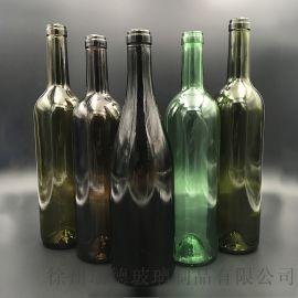 玻璃酒瓶 红酒瓶 葡萄酒瓶 果酒瓶