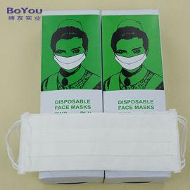 一次性口罩 双层纸口罩 无尘洁净口罩 工业防尘口罩