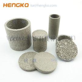 高强度耐腐蚀微米过滤片油水分离芯不锈钢烧结滤芯