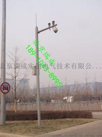 厂家直销防盗摄像监控立杆 监控灯杆 不锈钢灯杆