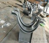 包头T型焊接隔热管托厂家定制 530口径膨胀蛭石绝热管托座