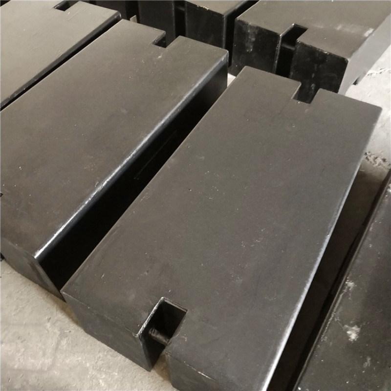薛城1T钢包铁砝码1000kg铸铁砝码