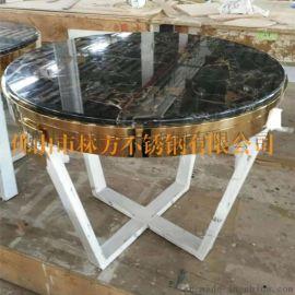 蘇州 定制酒店專用不鏽鋼茶幾 精品鍍銅茶幾定制