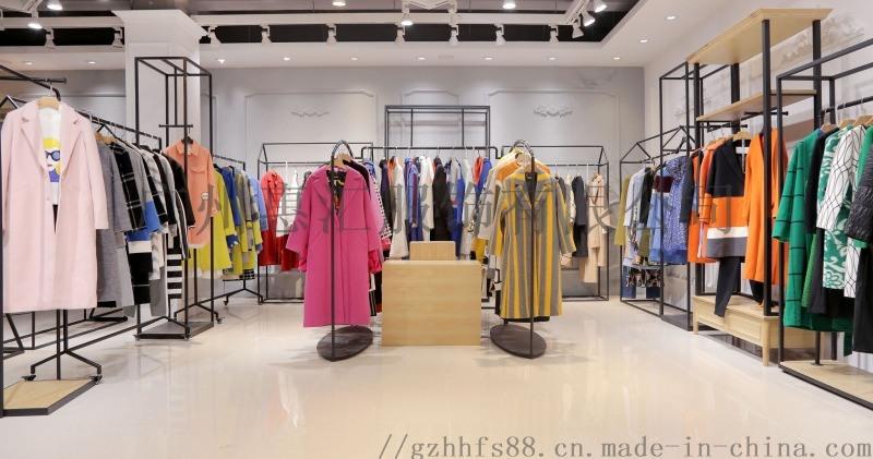 品牌折扣女装加盟原创设计师新款双面呢货源