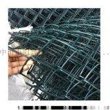 阳普供应绿色包胶铁丝运动场围栏护栏网