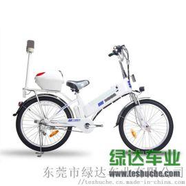 电动巡逻自行车 48V治安巡逻电动车