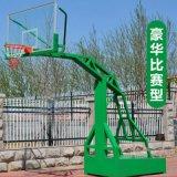 綠色移動式籃球架 新國標籃球場廠家 廣西康奇體育