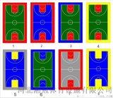 蘇州市氣墊懸浮地板籃球場塑膠地板拼裝地板