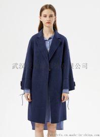服装货源怎么找凯尔达女士中长款风衣【一手货源】