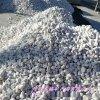 本格供应园林景观用纯白鹅卵石 机制鹅卵石