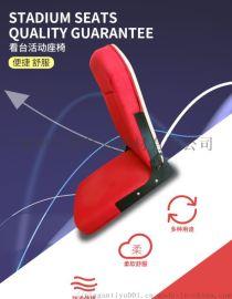 体育馆室内手动电动伸缩看台软包座椅