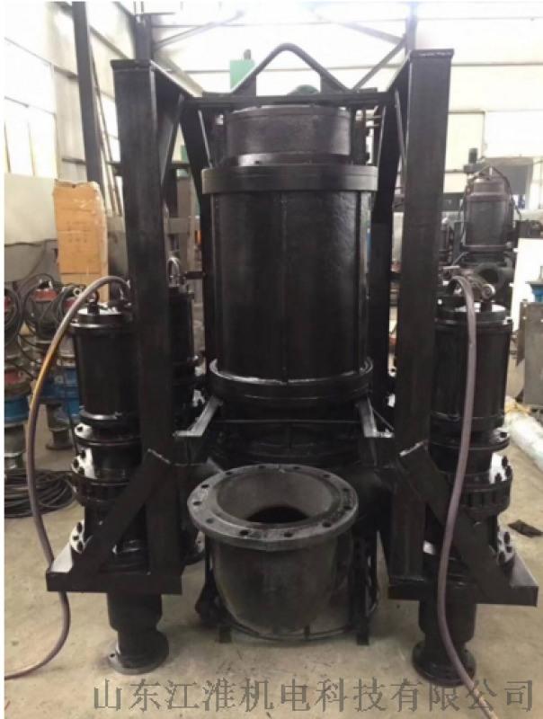 连云港双搅拌器耐磨油泥泵  双搅拌器耐磨抽砂泵机组厂家批发