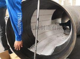 陶瓷钢管厂家 陶瓷复合弯管 江河机械