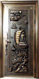 专业生产防爆铸铝门别墅装修入户门私人订制