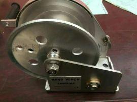 304不锈钢手摇绞盘 附刹车手摇绞车 自锁式手动绞盘 不锈钢绞车