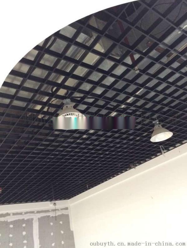 鋁格柵吊頂工藝流程