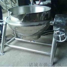 蒸汽加热行星搅拌夹层锅  全自动行星搅拌夹层锅