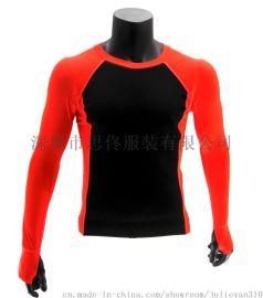 专业成人冲浪衣保暖防寒划水皮划艇服冬泳潜水男女长袖莱卡潜水服