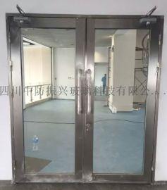 通道用不锈钢防火玻璃门制造厂,成都玻璃防火门