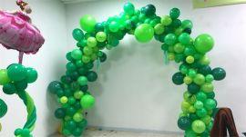 昆明花語花香氣球慶典氣球年會氣球布置氣球展會