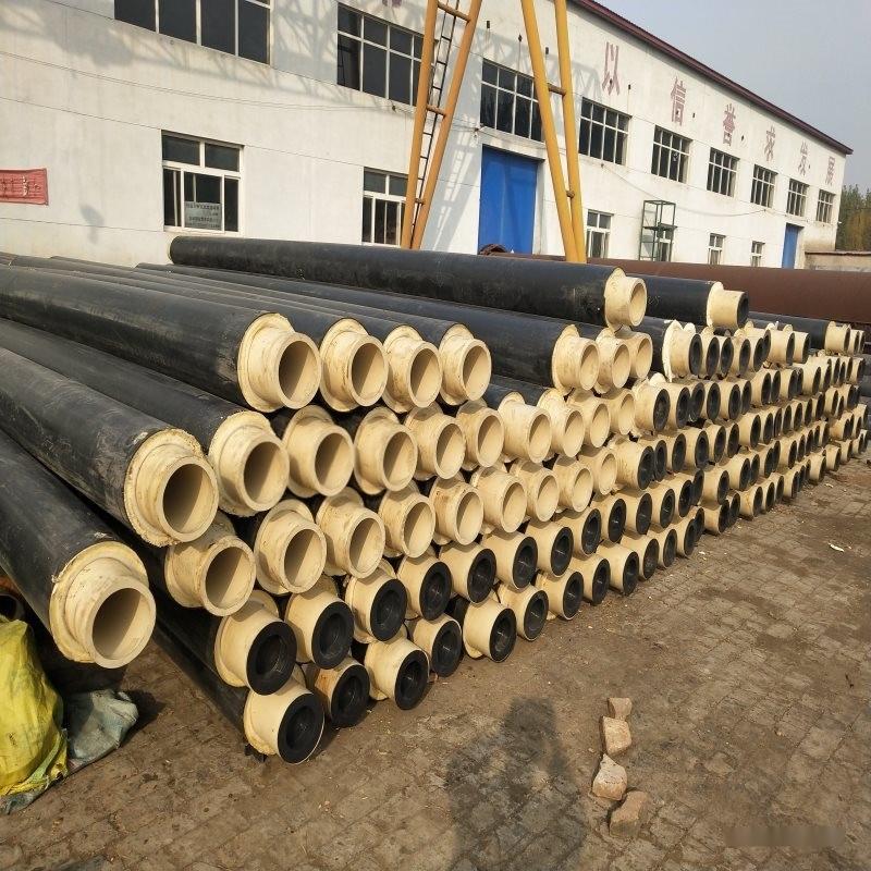 河北鑫龙DN400/426预制聚氨酯保温管 发泡聚氨酯保温管怎么选择厂家