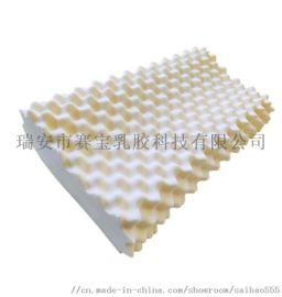 源头厂家泰国天然乳胶枕定制颈椎狼牙枕按摩枕