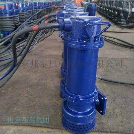 WQB15-25-3KW厂用防爆排污排沙潜水泵