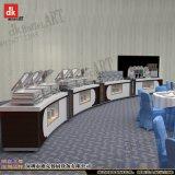 定制构造设计自助餐台 西餐布菲台布置图片 酒店餐饮家具定做厂家
