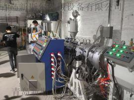 青岛新斯尔机械供应PE高速管材挤出生产线