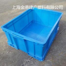供應 500-380-220塑料周轉箱  倉儲物流塑料箱 高壓聚乙烯周轉箱