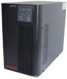 山特C3K 3KVA/2400W UPS不间断电源 内置电池 零转换在线式稳压
