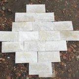 河北文化石白石英蘑菇石锈色文化石批发