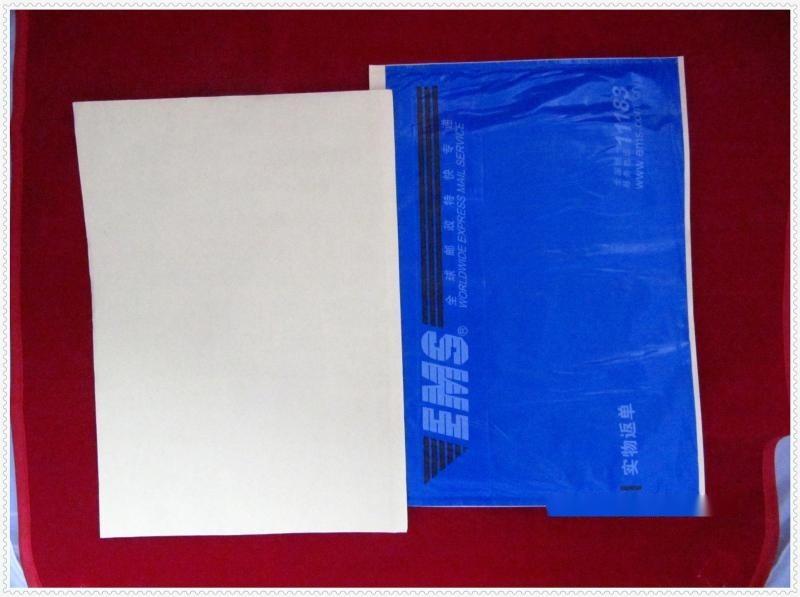 厂家订做各种 pvc背胶袋,PE背胶袋