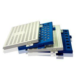 厂家定制冲孔铝单板建筑外墙穿孔铝单板幕墙装饰材料