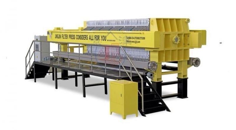 景津板框压滤机 印染污泥浓缩一体机