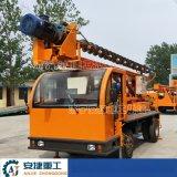 輪式螺旋地樁打樁機 螺旋引孔打樁機 小型建築打樁機