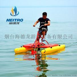水上自行车 水上三轮车 脚踏船 电动船 海德龙有售