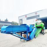 新款优质苜蓿草青贮打包机 固定式芦苇青贮打包机厂家