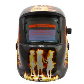 電焊面罩太陽能自動變黑電焊面罩