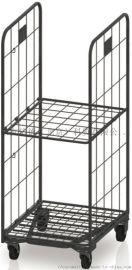金属可折叠物流笼车/A字型折叠笼车