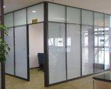 河南郑州高隔断  办公室双层鋼化玻璃高隔断