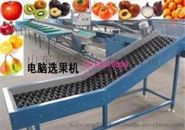 富士电脑化苹果选果机,辽宁哪有卖电选果机的,大小分选机