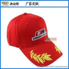 新诠释 赛车棒球帽定制 纯棉刺绣男女棒球帽 前沿麦穗户外运动棒球帽