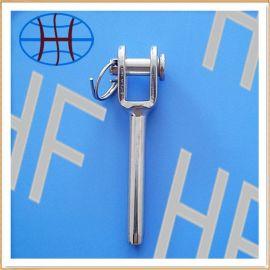 【厂家直销】不锈钢叉式接线器  钢丝绳索具配件
