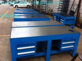 模具工作台,铸铁工作台,铸铁模具工作台,修模台,工模台,铸铁平台